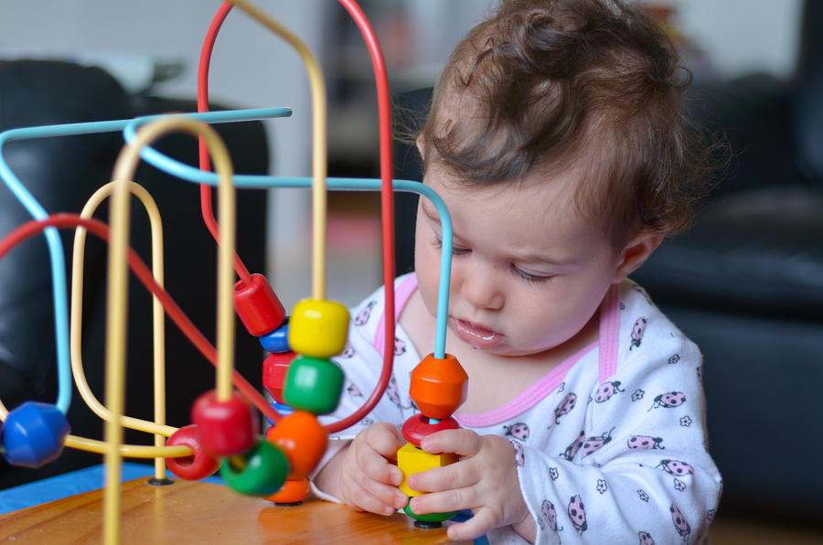 Baby Play With Bead Maze